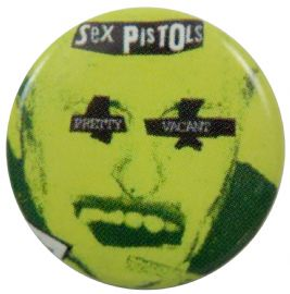 Sex Pistols - 'Pretty Vacant Face' Button Badge